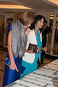 KAMILYA NOVOKSHONOVA; LARISA ARCHAKOVA, The Foreign Sisters lunch sponsored by Avakian in aid of Cancer Research UK. The Dorchester. 15 May 2012