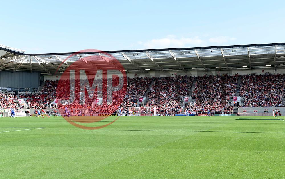Ashton Gate South Stand  - Mandatory byline: Joe Meredith/JMP - 07966386802 - 15/08/2015 - FOOTBALL - Ashton Gate -Bristol,England - Bristol City v Brentford - Sky Bet Championship