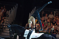 Lucy Phillips, (GBR), Pitucelli, Elizabeth Phillips - Individuals Women Final Vaulting - Alltech FEI World Equestrian Games&trade; 2014 - Normandy, France.<br /> &copy; Hippo Foto Team - Jon Stroud<br /> 05/09/2014