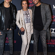 NLD/Hilversum/20171004 - Premiere Blade Runner 2049, Laura Ponticorvo met partner en stiefzoon