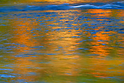 Autumn reflection in Dryberry Creek<br />Sioux Narrows<br />Ontario<br />Canada
