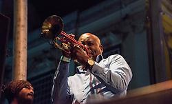 Mavundla, Mango Groove. Cape Town Jazz Festival Free Community Concert, 29 March 2017. Greenmarket Square. Photo by Alec Smith/imagemundi.com