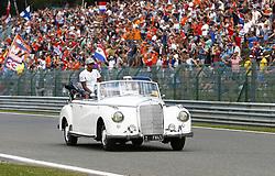 August 28, 2016 - Spa Francorchamps, Belgium - Motorsports: FIA Formula One World Championship 2016, Grand Prix of Belgium, .#44 Lewis Hamilton (GBR, Mercedes AMG Petronas Formula One Team) (Credit Image: © Hoch Zwei via ZUMA Wire)