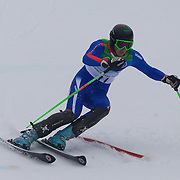 Winter Olympics, Vancouver, 2010. Steve Missillier, France, in action during the Alpine Skiing, Men's Slalom at Whistler Creekside, Whistler, during the Vancouver Winter Olympics. 27th February 2010. Photo Tim Clayton