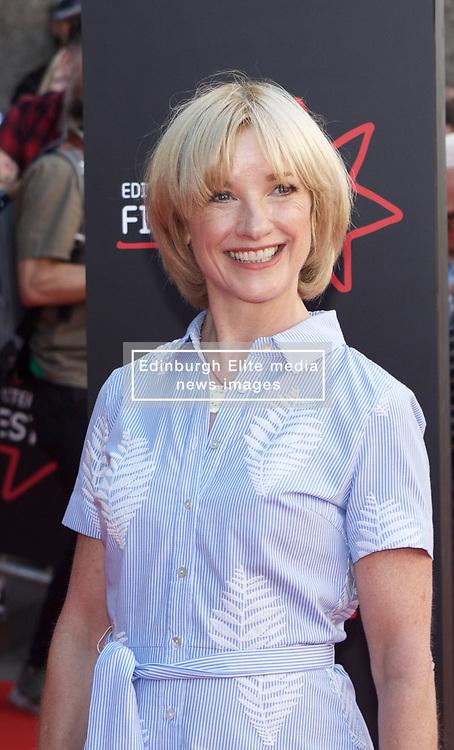 Actress Jane Horrocks attends the premiere of Swimming With Men, Festival Theatre, Edinburgh,pic copyright Terry Murden @edinburghelitemedia