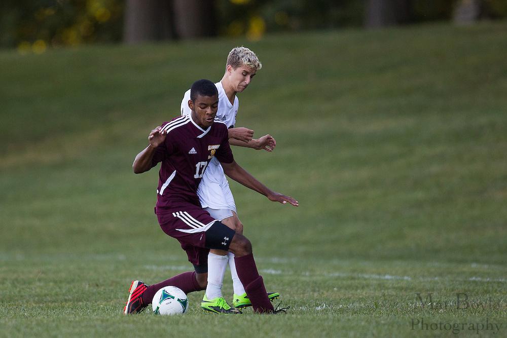 Pitman Boys Soccer vs Glassboro High School at Alcyon Park in Pitman, NJ on Monday September 23, 2013. (photo / Mat Boyle)