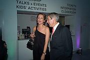 SAFFRON ALDRIDGE; SIR STUART ROSE Exhibition opening ' Alan Aldridge- The Man With Kaleidoscope Eyes' hosted by his daughter Saffron Aldridge. Design Museum. Shad Thames. London  SE1. *** Local Caption *** -DO NOT ARCHIVE -Copyright Photograph by Dafydd Jones. 248 Clapham Rd. London SW9 0PZ. Tel 0207 820 0771. www.dafjones.com