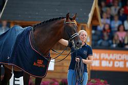 Vissers Anna, NED, Glock's Johnson TN<br /> Nederlands Kampioenschap Dressuur <br /> Ermelo 2017<br /> © Hippo Foto - Dirk Caremans<br /> 16/07/2017