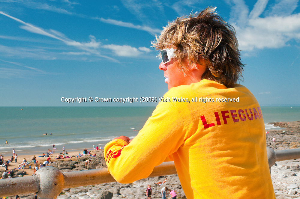 Lifeguard<br /> Rest Bay<br /> Porthcawl<br /> Vale Of Glamorgan<br /> South<br /> Surfing<br /> Activities &amp; Sports