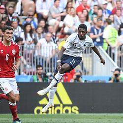 Ousmane Dembele of France during the FIFA World Cup Group C match between Denmark and France at Luzhniki Stadium on June 26, 2018 in Moscow, Russia. (Photo by Anthony Dibon/Icon Sport)