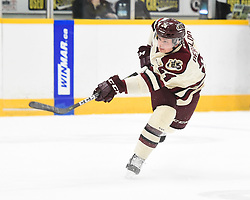 Adrien Beraldo of the Peterborough Petes. Photo by Aaron Bell/OHL Images