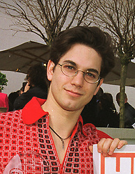 Actor ADAM GARCIA at a reception in London on 25th March 1999.MPR 109