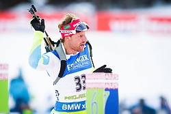 Klemen Bauer (SLO) during Men 10 km Sprint of the IBU Biathlon World Cup Pokljuka on December 17, 2015 in Pokljuka, Slovenia. Photo by Ziga Zupan / Sportida