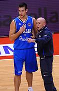 DESCRIZIONE : Biella Beko All Star Game 2012-13<br /> GIOCATORE : Riccardo Moraschini e Coach Luca Dalmonte<br /> CATEGORIA : Coach Direttive Fair Play<br /> SQUADRA : Italia Nazionale Maschile<br /> EVENTO : All Star Game 2012-13<br /> GARA : Italia All Star Team<br /> DATA : 16/12/2012 <br /> SPORT : Pallacanestro<br /> AUTORE : Agenzia Ciamillo-Castoria/A.Giberti<br /> Galleria : FIP Nazionali 2012<br /> Fotonotizia : Biella Beko All Star Game 2012-13<br /> Predefinita :
