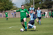 - Riverside CSC (light blue) v Hilltown Hotspurs (green) in the Dundee Saturday Morning Football League Shaun Kelly Memorial Cup Final at North end, Dundee, Photo: David Young<br /> <br />  - &copy; David Young - www.davidyoungphoto.co.uk - email: davidyoungphoto@gmail.com
