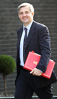 Former cabinet minister Chris Huhne admits perverting the course of justice over claims his ex-wife Vicky Pryce took speeding points for him a decade ago. Image taken in Downing Street, London, UK, 18 May 2010, (Photo by Richard Goldschmidt)