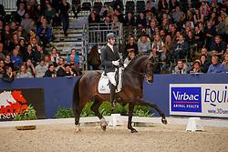 Maljaars Benjamin, NED, Inspire<br /> KWPN Stallionshow - 's Hertogenbosch 2018<br /> © Hippo Foto - Dirk Caremans<br /> 02/02/2018