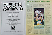 All Ireland Senior Hurling Championship - Final, .03.09.1995, 09.03.1995, 3rd September 1995, .03091995AISHCF, .Senior Clare v Offaly,.Minor Kilkenny v Cork,.Clare 1-13, Offaly 2-8, .TSB Bank,