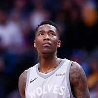 05 April 2018: Minnesota Timberwolves guard Jamal Crawford (11) is seen during the Denver Nuggets 100-96 victory over the Minnesota Timberwolves, at the Pepsi Center, Denver, Colorado, USA.