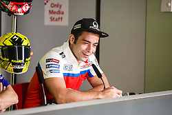 June 8, 2017 - Barcelona, Spain - MotoGP, Danilo Petrucci(Ita), Octo Pramac Racing Team during the press conference of MotoGp Grand Prix Monster Energy of Catalunya, in Barcelona-Catalunya Circuit, Barcelona on 8th June 2017 in Barcelona, Spain. (Credit Image: © Urbanandsport/NurPhoto via ZUMA Press)
