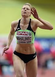 07-03-2015 CZE: European Athletics Indoor Championships, Prague<br /> Maja Mihalinec SLO