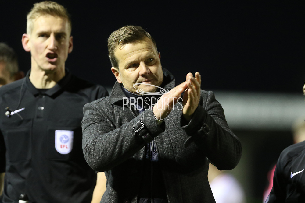 Mark Cooper during the EFL Sky Bet League 2 match between Forest Green Rovers and Cheltenham Town at the New Lawn, Forest Green, United Kingdom on 25 November 2017. Photo by Antony Thompson.