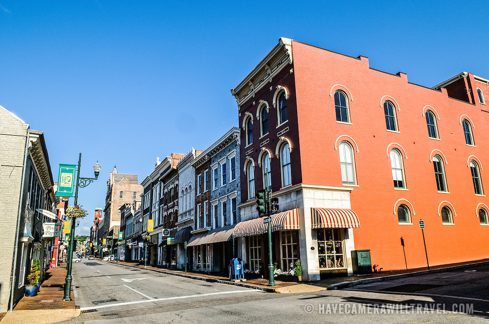 E Beverley Street downtown in Staunton