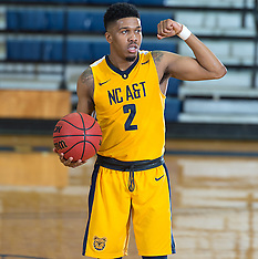 2016-17 A&T Men's Basketball vs Rider University