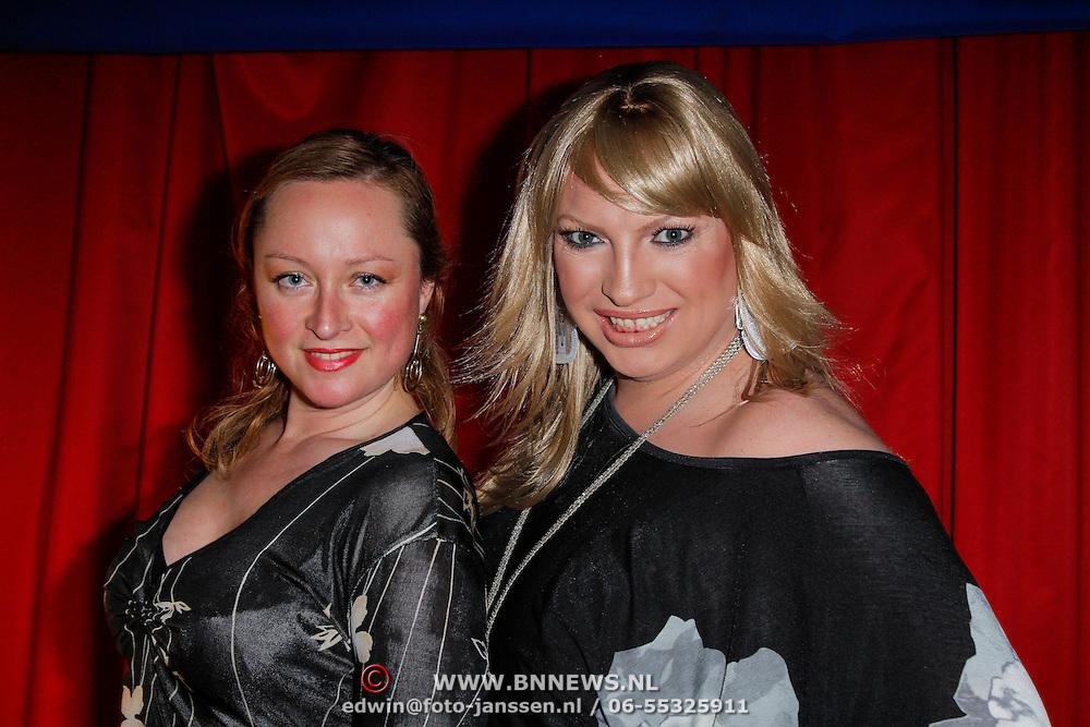 NLD/Amsterdam/20120327 - Premiere Cirque du Soleil Corteo, Mayday en ontwerpster Kim Siderius