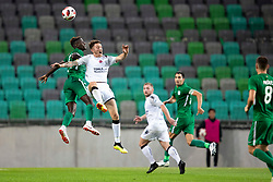 Jordan Forsythe of FC Crausaders during 1st Leg football match between NK Olimpija Ljubljana and FC Crausaders in 2nd Qualifying Round of UEFA Europa League 2018/19, on July 26, 2018 in SRC Stozice, Ljubljana, Slovenia. Photo by Urban Urbanc / Sportida
