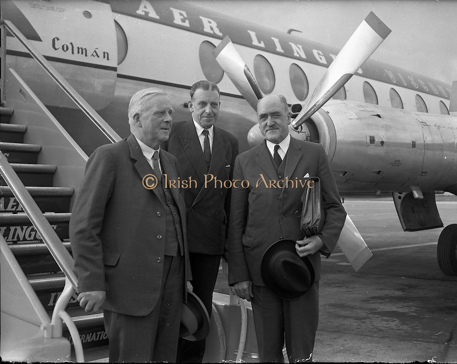 An Taoiseach Seán Lemass leaves for London Talks..17.07.1961, Frank Aiken, DFA,