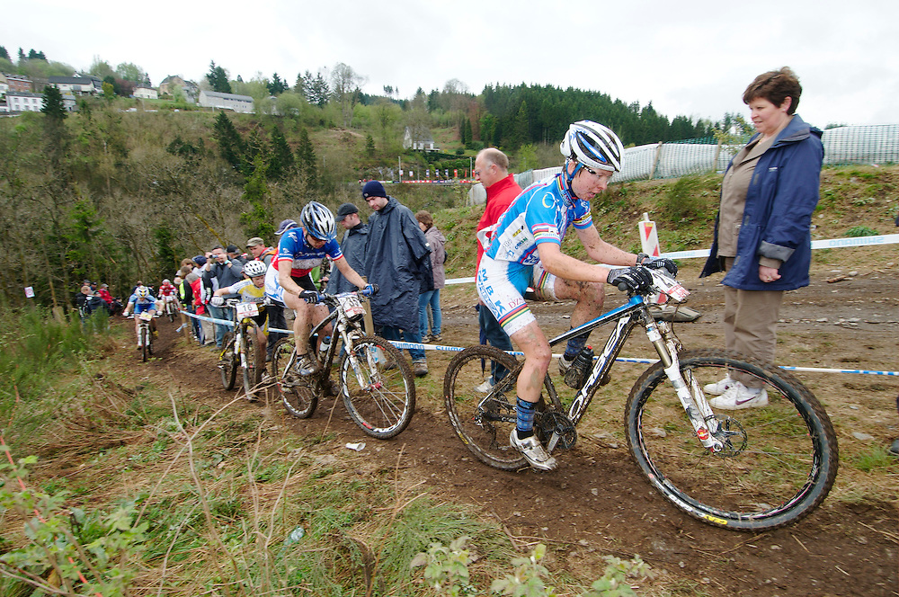 UCI World Cup XCO round 2, Houffalize, Belgium. May 2