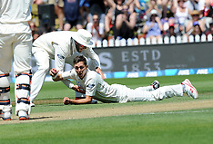 Wellington-Cricket, New Zealand v Australia. 1st test, day 2
