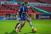 Gillingham's Jake Hessenthaler on the ball during the Sky Bet League 1 match between Swindon Town and Gillingham at the County Ground, Swindon, England on 26 December 2015. Photo by Shane Healey.
