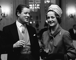 VISCOUNT & VISCOUNTESS ALTHORP, parents of Diana, Princess of Wales, in 1960.    CIH 4