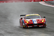 83 LMGTE Am Af Corse / Ferrari 458 Italia / Francois Perrodo / Emmanuel Collard / Rui Aguas during the FIA World Endurance Championship Qualifying at Silverstone, Towcester, United Kingdom on 15 April 2016. Photo by Craig McAllister.