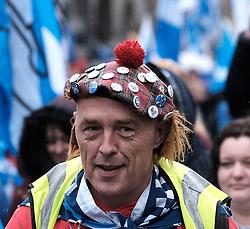 All Under One Banner March, Edinburgh, 5 October 2019<br /> <br /> Pictured: Marchers make their way towards the Meadows<br /> <br /> Alex Todd   Edinburgh Elite media