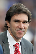 Nottingham Forest manager Aitor Karanka before the Sky Bet Championship match at the Cardiff City Stadium.