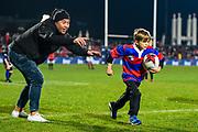 Half time Club Race, during the Super Rugby match, Crusaders V Blues at Christchurch Stadium, Christchurch, New Zealand, 25th May 2019.Copyright photo: John Davidson / www.photosport.nz
