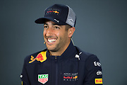 October 18-21, 2018: United States Grand Prix.  Daniel Ricciardo (AUS), Aston Martin Red Bull Racing, RB14
