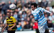 FODBOLD: Vito Hammershøy-Mistrati (FC Helsingør) under kampen i NordicBet Ligaen mellem FC Helsingør og Hobro IK den 23. april 2017 på Helsingør Stadion. Foto: Claus Birch