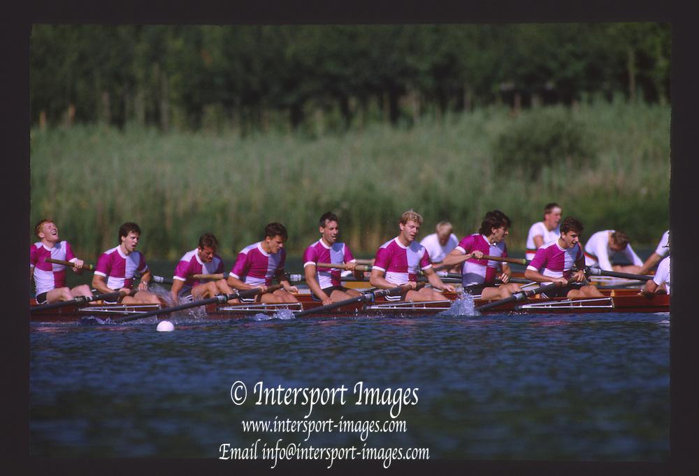 Lucerne, SWITZERLAND. 1988 Lucerne International Regatta, Lake Rotsee. June 1988 [Mandatory Credit - Peter Spurrier/Intersport Images] 1988 Lucerne International Regatta