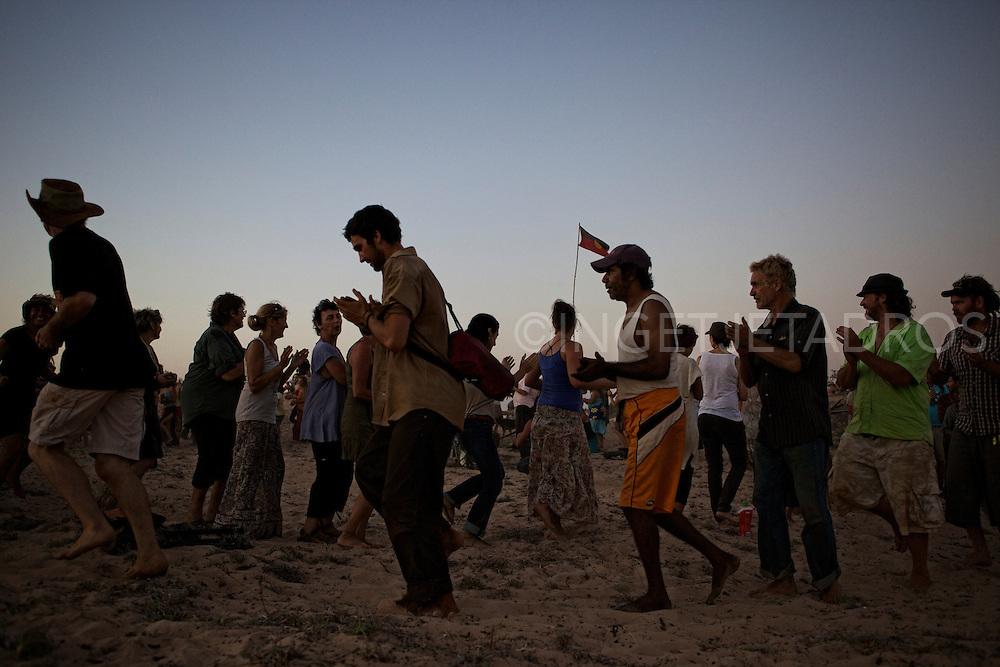 Walmadan corroboree, Celebrating Country 12-11-2011..
