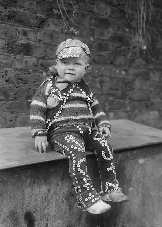 """Pearlies,"" Master Simmons, England, 1922"