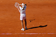 Roland Garros. Paris, France. June 10th 2006..Women's Final. Justine Henin-Hardenne wins against Svetlana Kuznetsova.