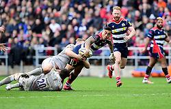 Tusi Pisi of Bristol Rugby  - Mandatory by-line: Joe Meredith/JMP - 26/02/2017 - RUGBY - Ashton Gate - Bristol, England - Bristol Rugby v Bath Rugby - Aviva Premiership