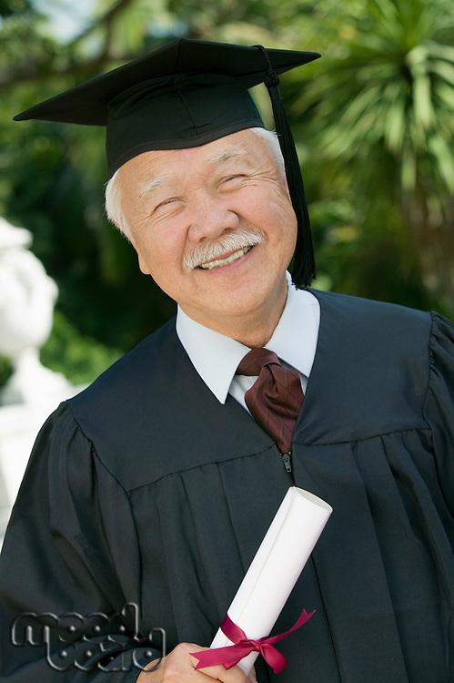 Smiling Senior Graduate