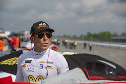 June 1, 2018 - Long Pond, Pennsylvania, United States of America - Jamie McMurray (1) hangs out on pit road prior to qualifying for the Pocono 400 at Pocono Raceway in Long Pond, Pennsylvania. (Credit Image: © Justin R. Noe Asp Inc/ASP via ZUMA Wire)