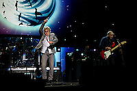 Roger Daltrey and Pete Townshend of The Who perform at the 12-12-12 fundraising concert to aid the victims of Hurricane Sandy, will take place on December 12, 2012 at Madison Square Garden. The concert featured The Rolling Stones, Bon Jovi, Eric Clapton, Dave Grohl, Billy Joel, Alicia Keys, Chris Martin, Bruce Springsteen & the E Street Band, Eddie Vedder, Roger Waters, Kanye West, The Who, and Paul McCartney. All the proceeds went go to the Robin Hood Relief Fund. Robin Hood, the largest independent poverty fighting organization in the New York area, will insure that every cent raised will go to non-profit groups that are helping the tens of thousands.of people throughout the tri-state area who have been affected by Hurricane Sandy...Photo © Robert Caplin..