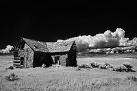 Abandoned adobe homestead; near Capulin, CO